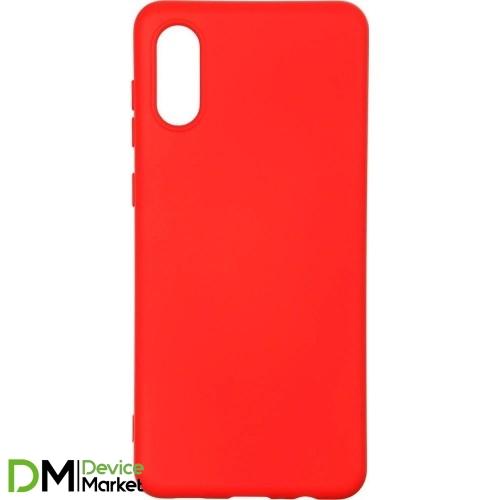Чехол Armorstandart Icon Case для Samsung A02 A022 Chili Red
