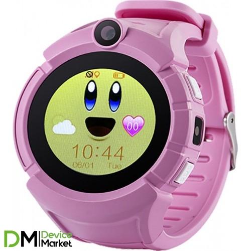 Smart Baby Watch Q610 Pink