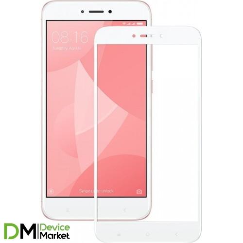 Защитное стекло Xiaomi Redmi 4X White