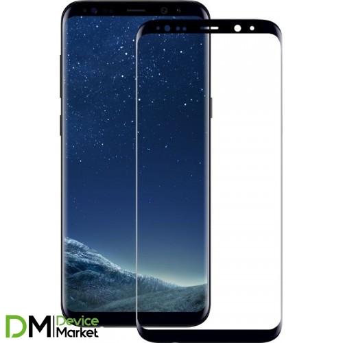 Защитное стекло 3D Samsung S8 Plus Black