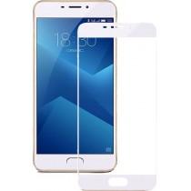 Защитное стекло 3D Meizu M5 Note White