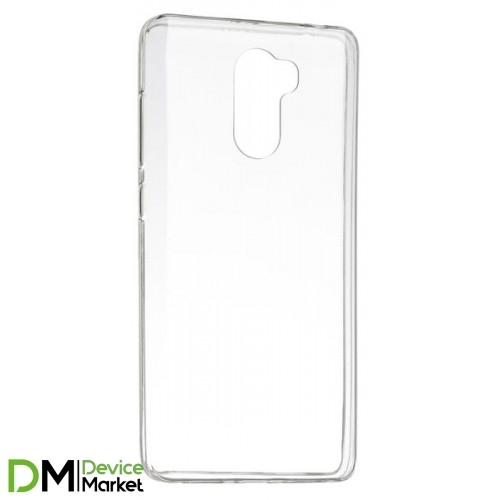 Силиконовый чехол Xiaomi Redmi 4 прозрачный