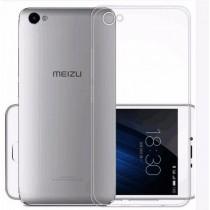 Чехол силиконовый для Meizu U10 прозрачный