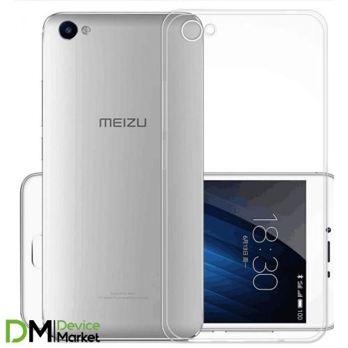 Чехол силиконовый для Meizu U20 прозрачный