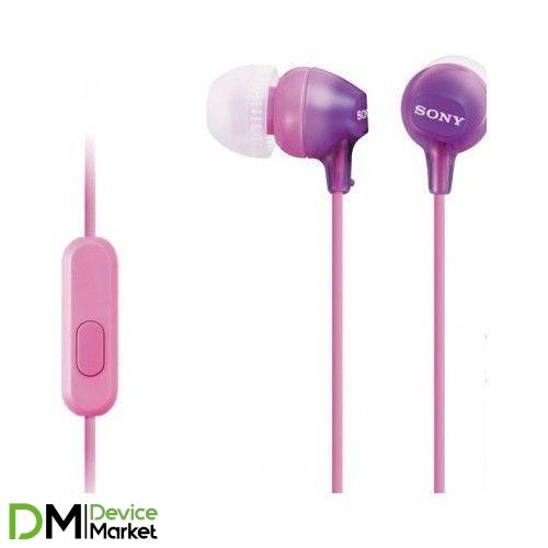 Sony MDR-EX15AP Violet