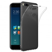 Чехол силиконовый Xiaomi Mi A1 (прозрачный)