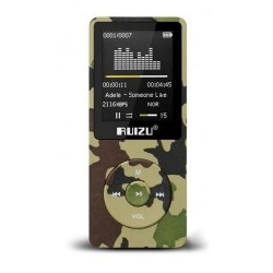 Mp3 Ruizu X02 8GB Green