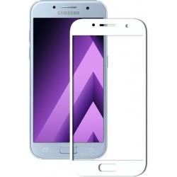 Защитное стекло 3D Samsung A3 2017 (A320) White