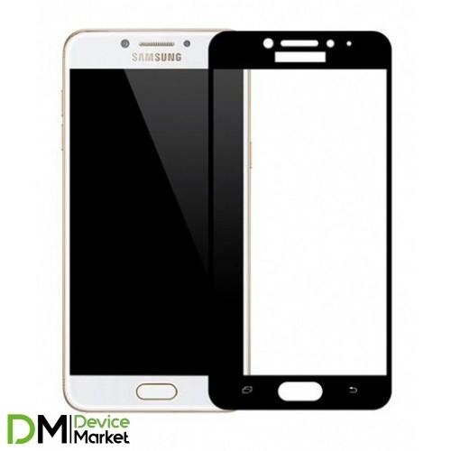 Защитное стекло Samsung C5/C5000 Black