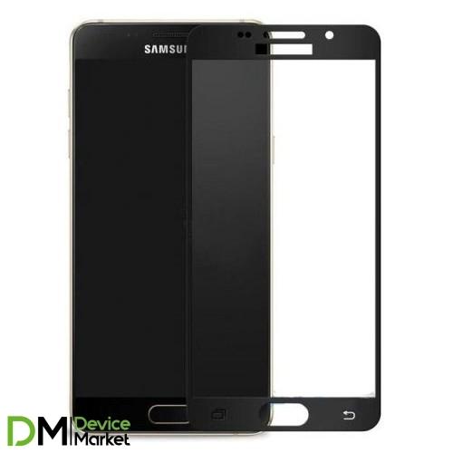Защитное стекло 3D Samsung A3 2016 (A310) Black