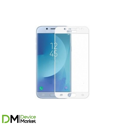 Защитное стекло Samsung J330 3D White