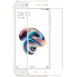 Защитное 3D стекло на Xiaomi Mi A1 (White)