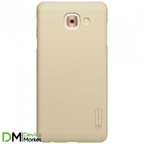 Чехол Nillkin Frosted Shield для Samsung J7 Max Gold