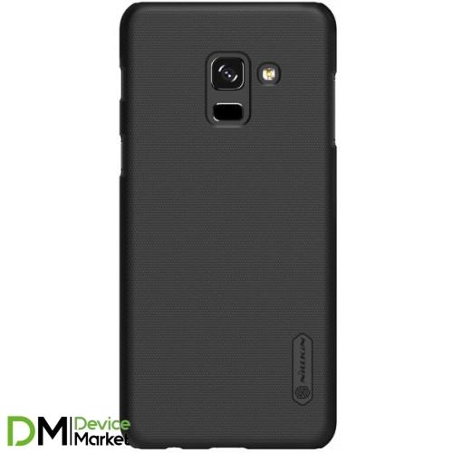 Чехол -накладка Nillkin Samsung A8 2018 A530 Black