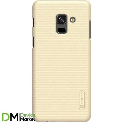 Чехол -накладка Nillkin Samsung A8 2018 A530 Gold