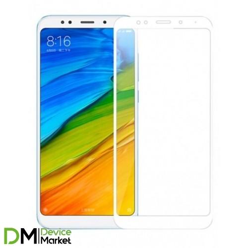 Защитное стекло Xiaomi Redmi 5 White