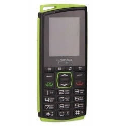 Sigma mobile Comfort 50 Mini 4 Black/ Green