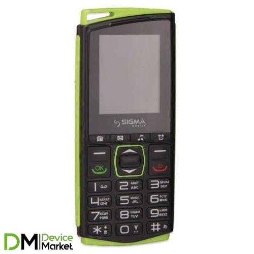 Sigma mobile Comfort 50 Mini 4 Black/ Green