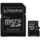 Kingston microSDXC 64 Gb UHS-I+adapter U1