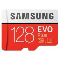 Карта памяти Samsung microSDXC 128GB EVO PLUS (R100, W60MB/s)
