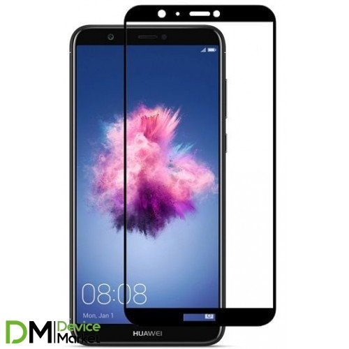 Защитное стекло 3D Huawei P Smart Black