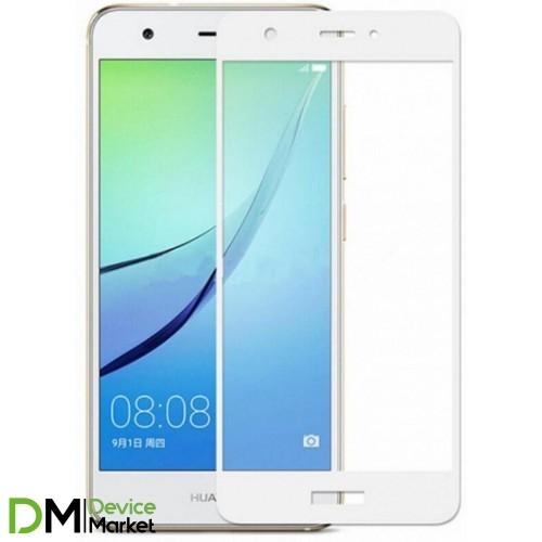 Защитное стекло Huawei P8 Lite 2017 White