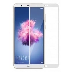 Защитное стекло 3D Huawei P Smart White