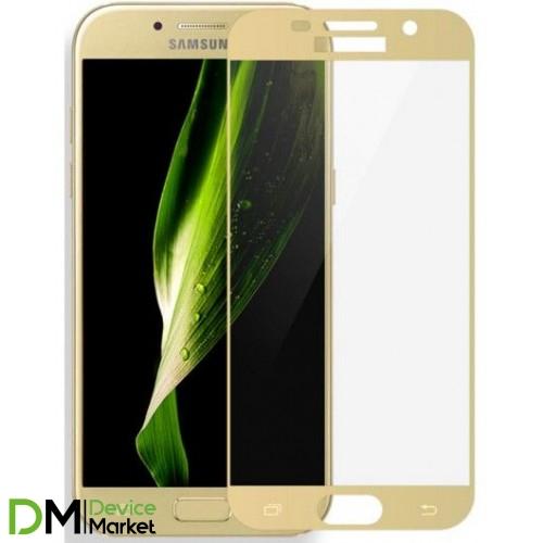 Защитное стекло Samsung J7 Prime G610 Gold