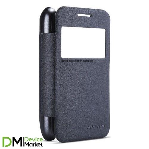 Чехол-книжка Nillkin Samsung G313 Sparkle Series Black