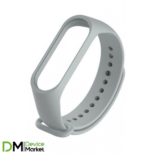 Ремешок для Фитнес-трекера Xiaomi Mi Band 3 Gray