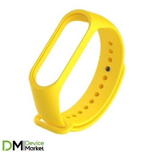 Ремешок для Фитнес-трекера Xiaomi Mi Band 3 Yellow