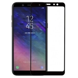 Защитное стекло Samsung A6 Plus 2018 A605 Black