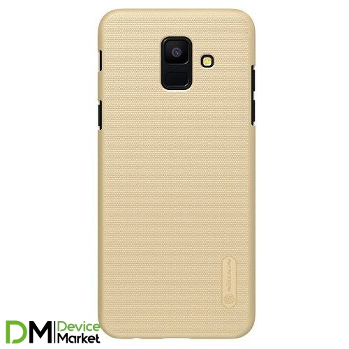 Чехол Nillkin Samsung A6 (2018)/A600-Super Frosted Shield Gold