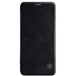 Кожаный чехол (книжка) Nillkin Qin Series для Samsung A600F Galaxy A6 (2018) Black