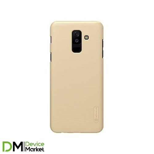 Чехол Nillkin Samsung A6 Plus (2018)/A605-Super Frosted Shield Gold
